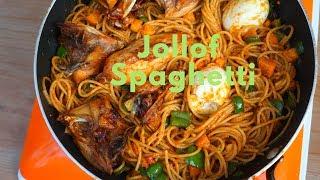 How to make Spaghetti Jollof || Healthier Version