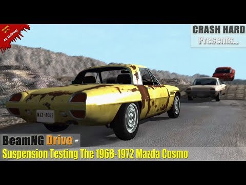 BeamNG Drive - Suspension Testing The 1968-1972 Mazda Cosmo