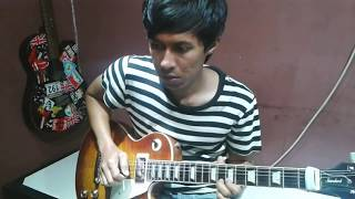 Rantau den pajauh  ipank feat rayola cover guitar by BARIB