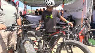Sea Otter Classic 2015 IGO electric bikes