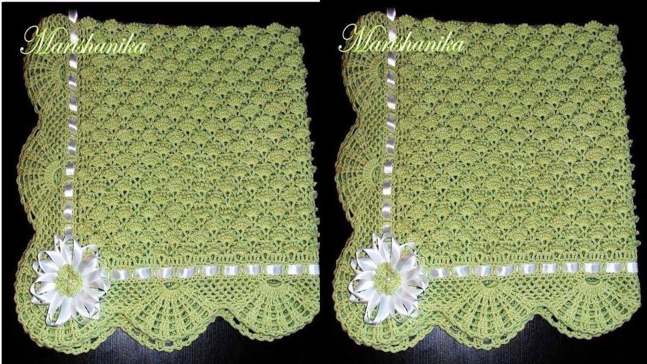 N 02 colchas de bebes tejidas a crochet imagenes de - Colchas ganchillo bebe ...
