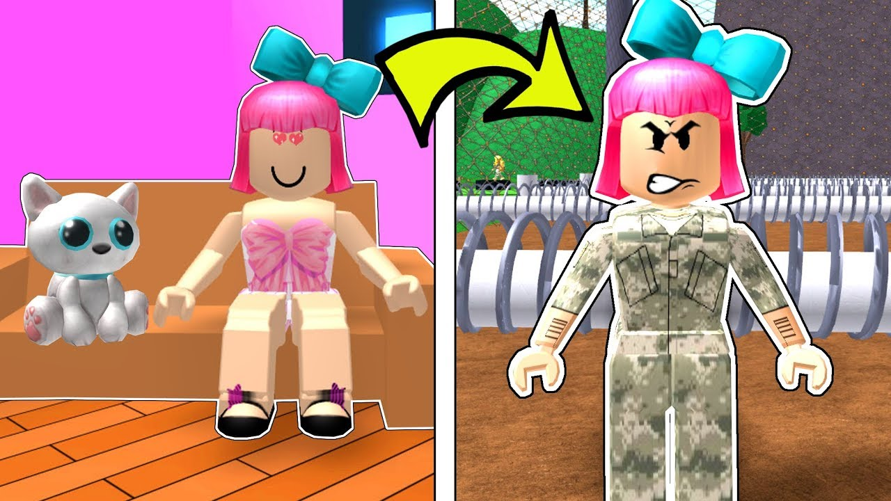 Roblox: I JOINED THE ARMY!!!
