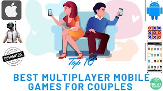 Top 10 Best Multiplayer Mobile Games For Couples Except Ludo  Insane Top 10 Ep 6