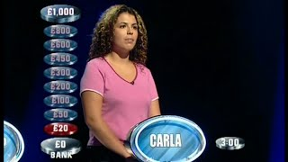 Weakest Link - 9th November 2001