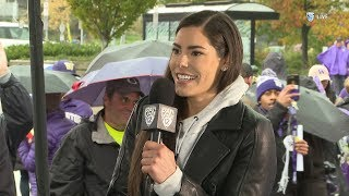 Huskies' Kelsey Plum talks college, pro hoops on 'The Pregame'