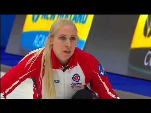 2018 Scotties Tournament of Hearts - Englot (CAN) vs. Van Osch (BC) - Draw1
