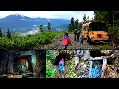 We Venture Deep Into Some Local Abandoned Mines - Old Mines In BC