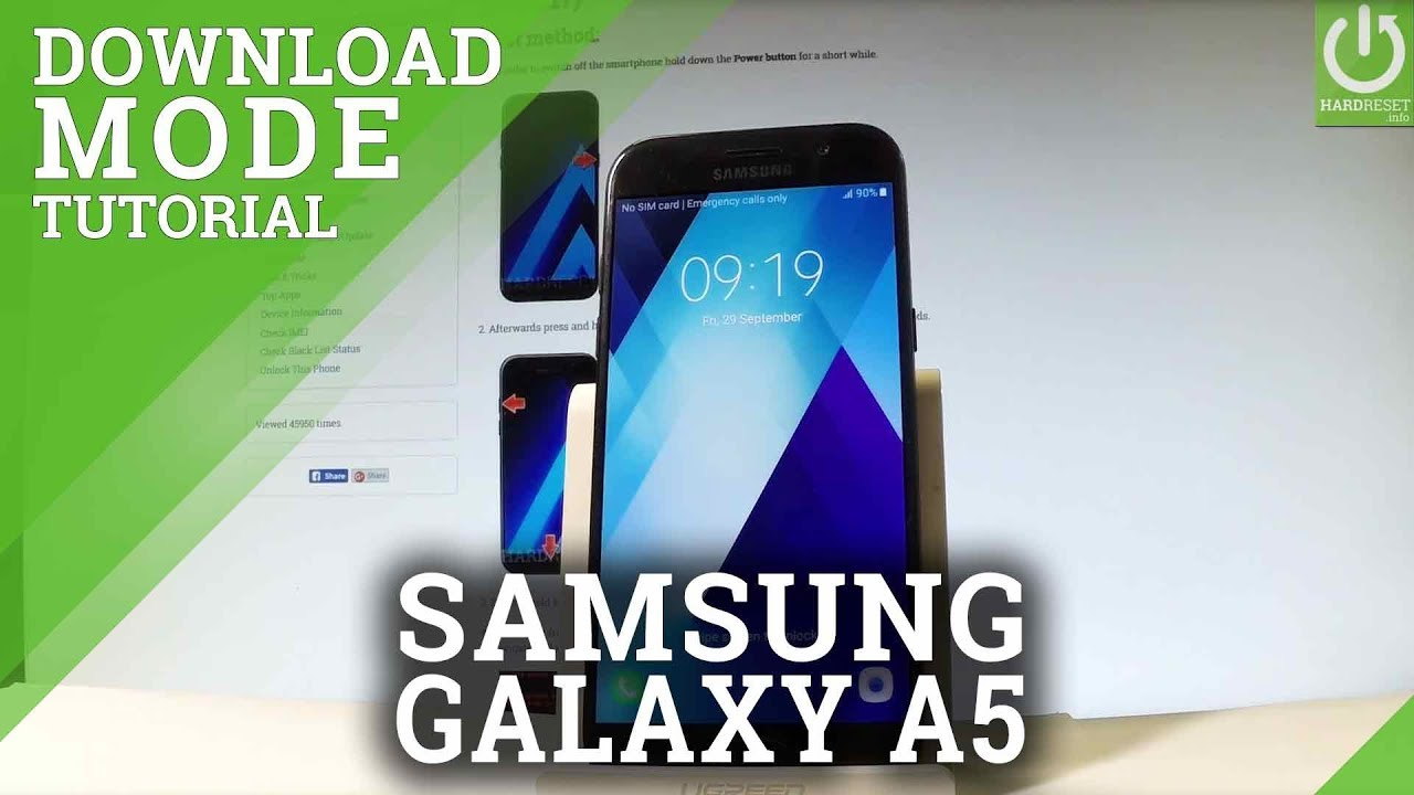 Download Mode SAMSUNG A520F Galaxy A5 (2017) - HardReset info