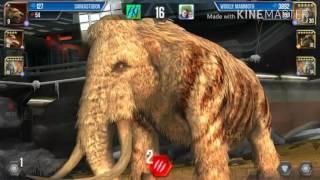 Jurassic World:The Game Cenozoic Series #3 Woolly Mammoth