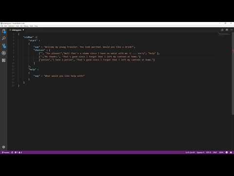 Godot Engine Livestream Adventure Game EP3: A Simple Dialog System