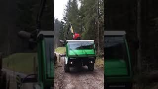 Schiltrac Swisstrans - im Forsteinsatz