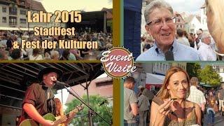Event-Visite: Stadtfest und Fest der Kulturen in Lahr
