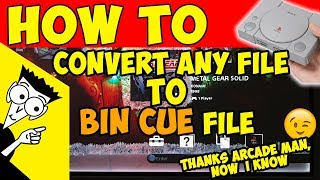 🛠️HOW TO: CONVERT ANY FILES TO BIN CUE TO PLAY ON PS CLASSIC