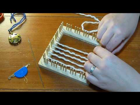 how to make a rug weaving loom