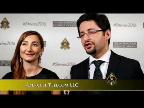 Azercell Telecom LLC wins a Stevie® Award in The 2016 International Business Awards.