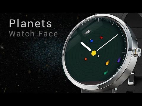 planets rotating wrist watch - photo #49
