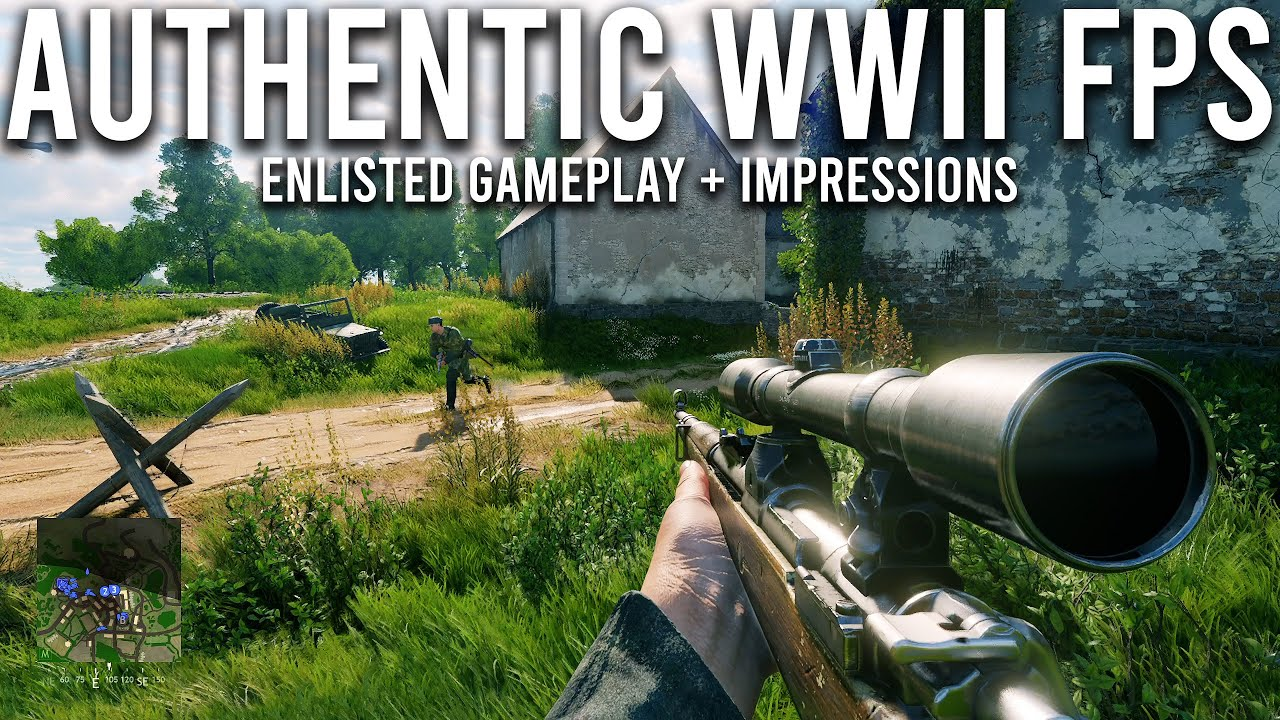 Download Enlisted - A NEW authentic World War 2 game that could rival Battlefield...
