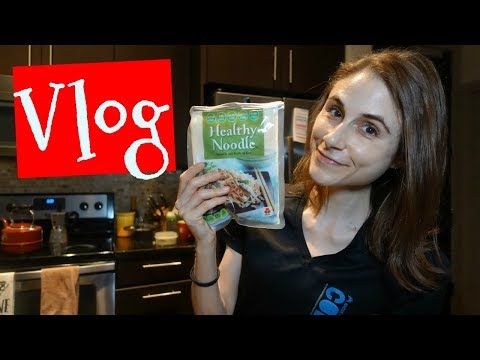 Vlog: Creamy Vegan Noodle Recipe in the Cosori| Dr Dray