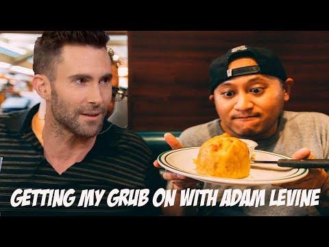 Trying Jewish Food With My Friend Adam Levine