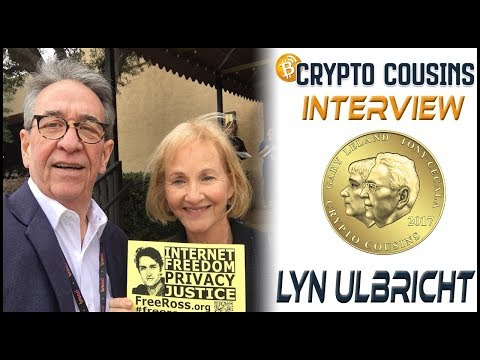 Interview With Lyn Ulbricht | 2018 Bitcoin Ethereum Blockchain Super Conference