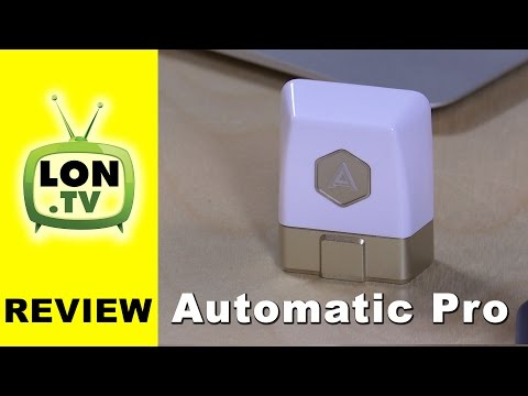 Automatic Pro Review - Car / Vehicle Tracker with Data Subscription ( 3G Cellular )