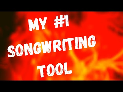MY NO.1 SONGWRITING TOOL(60 second songwriting lesson)