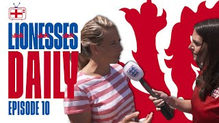 England Supporters Predict Score For England v Argentina! | Lionesses Daily Ep.10