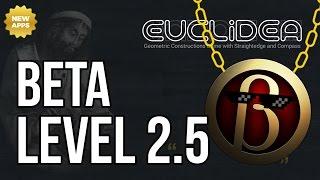 Euclidea Walkthrough - Beta Level 2.5 - Cut Rectangle