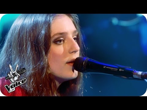 Birdy performs 'Wild Horses': The Live Semi-Final - The Voice UK 2016