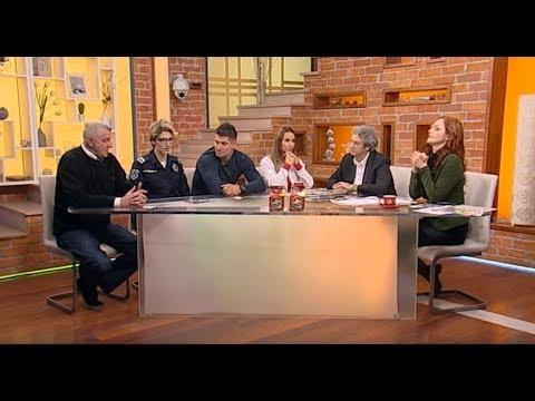 Dusan Bozoljac, Dusica Topic, Radovanovic, Jankovic - Dobro jutro Srbijo - (TV Happy 07.12.2017)