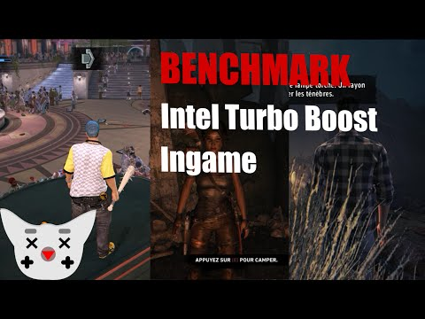 Benchmark : Intel Turbo Boost On/Off Ingame (720p)