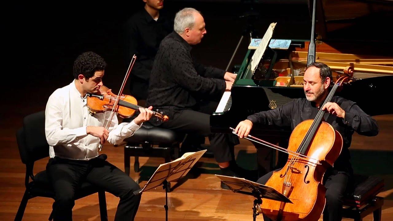 Mendelssohn Trio Op. 49 2/4 Rechtman Sussmann Hoffman