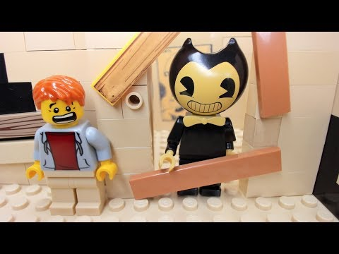 Lego Bendy and the Ink Machine Welcome Home Animation