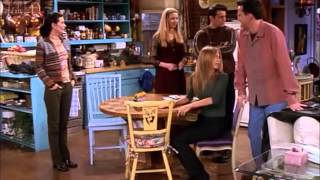 Friends S05E11 - Rachel finds out about Chandler and Monica
