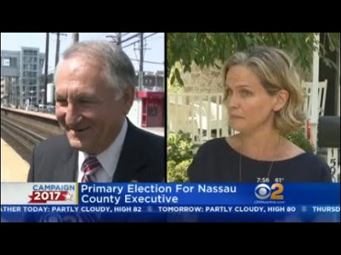 Primary Election For Nassau County Executive