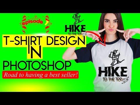 T Shirt Design Photoshop : Adobe Photoshop Tutorial 2020 thumbnail