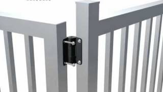Gate Hinges From Safetech Hardware