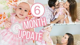 GETTING SHAMED FOR USING FORMULA & MILESTONES! | Annabelle's 6 Month Update | Hayley Paige