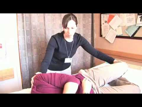 Changing bed of a bedridden person - YouTube