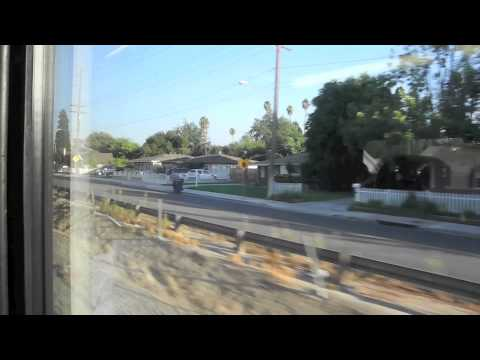 Metrolink Train | Pedley to Downtown Riverside, California | 4 Oct 2012