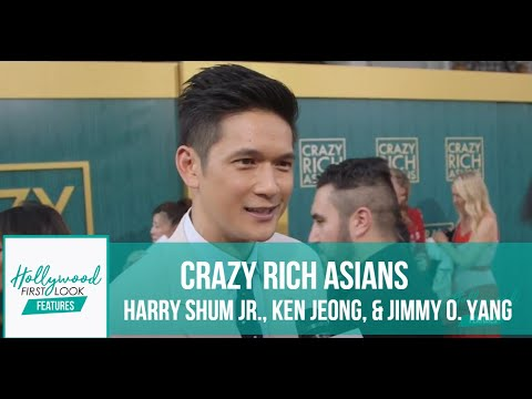 CRAZY RICH ASIANS Premiere - HARRY SHUM JR., KEN JEONG, & JI