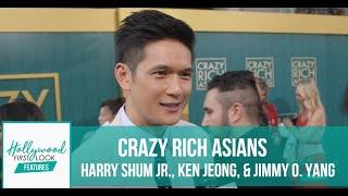 CRAZY RICH ASIANS Premiere - HARRY SHUM JR., KEN JEONG, & JIMMY O. YANG