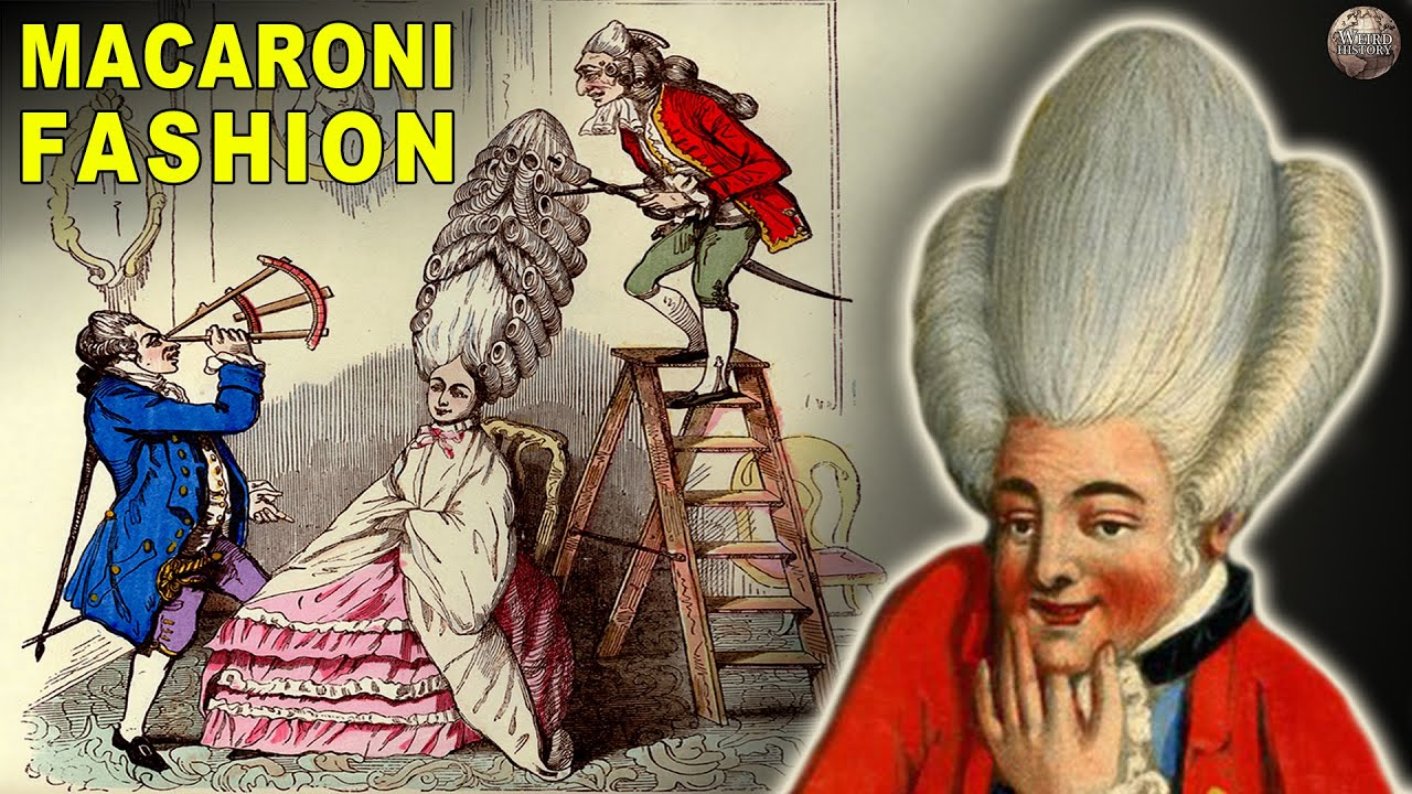 The Ridiculous History of Macaroni Fashion