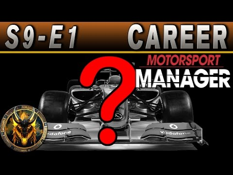 Motorsport Manager PC Career Mode S9E1 - THE WORLD CHAMPIONSHIP BEGINS!