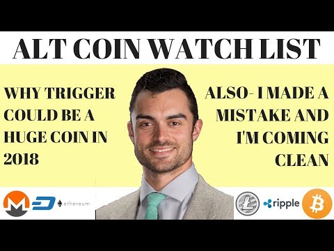 THIS ALT COIN IS A SLEEPER FOR 2018... TRIGGER WARNING (lol)