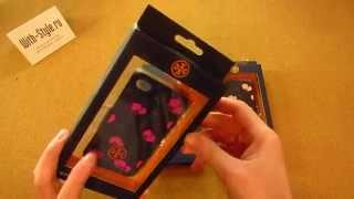 Силиконовый чехол-накладка для iPhone 4/4S Tory Burch Silicone Case Poppy Flower