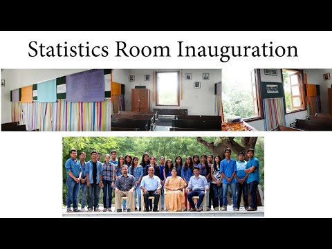 Statistics Room - A small homely inauguration