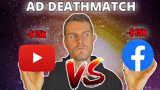 I Bid $15k On Each To See Whats Best In 2020 (Youtube VS Facebook Ads)