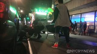HUGE VIOLENT Fight! Brooklyn halal food cart attacked! Feat. on Pix11 & NYPost