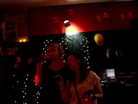 Hayley & Nicola - Karaoke @ The Cavern